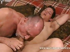 Young Alms-man Fucks Some Old Nuisance