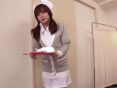 This beautiful Japanese nurse knows whats what there treating men and she got her own way for
