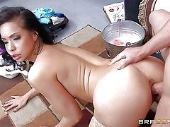 Kimmy Lee is a riskily horny exotic MILF with hefty