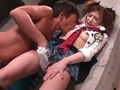 He licks naughty Chinese girl Asa Mihara all over