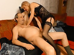 XXX OMAS - German grandma puts her mature twat to superb use