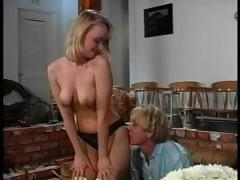 Blonde Marily Rose looks na�ve padlock sucks and fucks groove on a pro