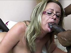 SAGGY Orbs MATURE Instructor - 3some MMF Fuck by Big black cock Guys